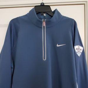 Nike dri fit tiger woods 1/4 zip
